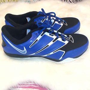 Nike I.D. Men's Sparq Training Blue Sneakers